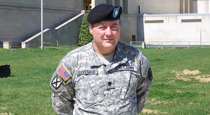 Joel Levesque, US Army, Class of 1998 - 730