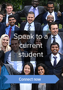 Speak to a current student. Connect now.