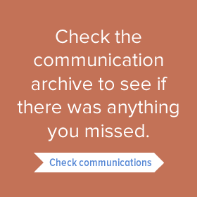 Check the communication archive to see if there was anything you missed. 275w