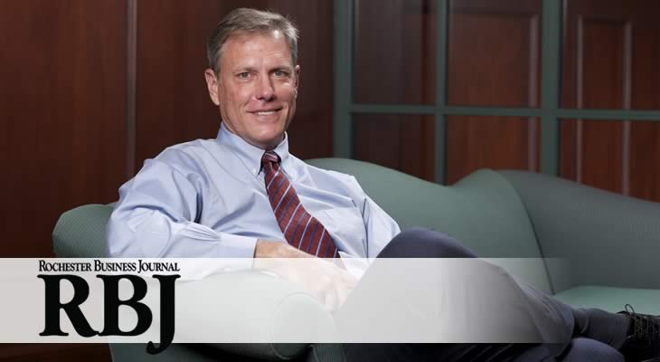 Dean Andrew Ainslie Profiled in Rochester Business Journal