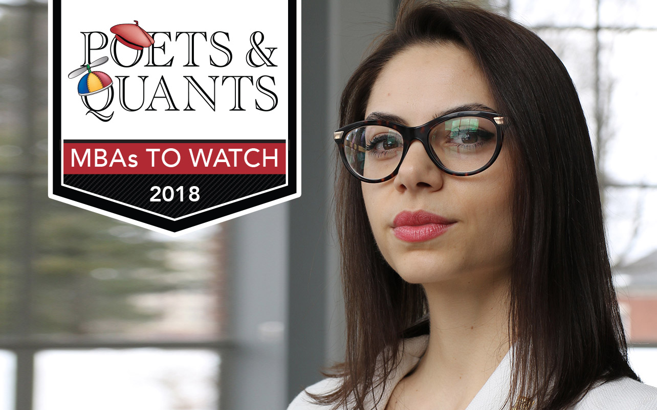 NEWS: 2018 MBAs To Watch: Veselina Angelova, University of Rochester (Simon)
