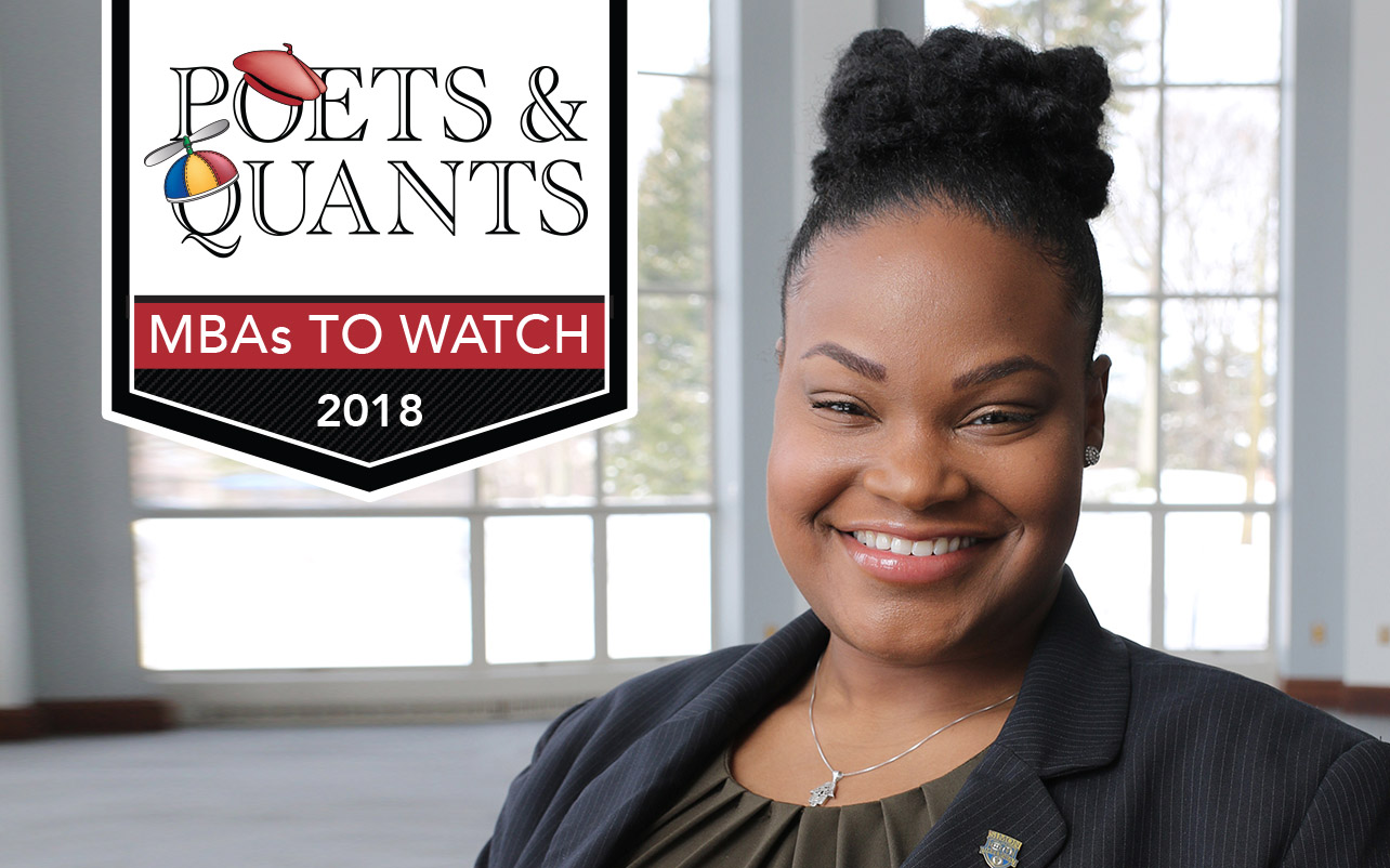 NEWS: 2018 MBAs To Watch: Hashima Charles, University of Rochester (Simon)