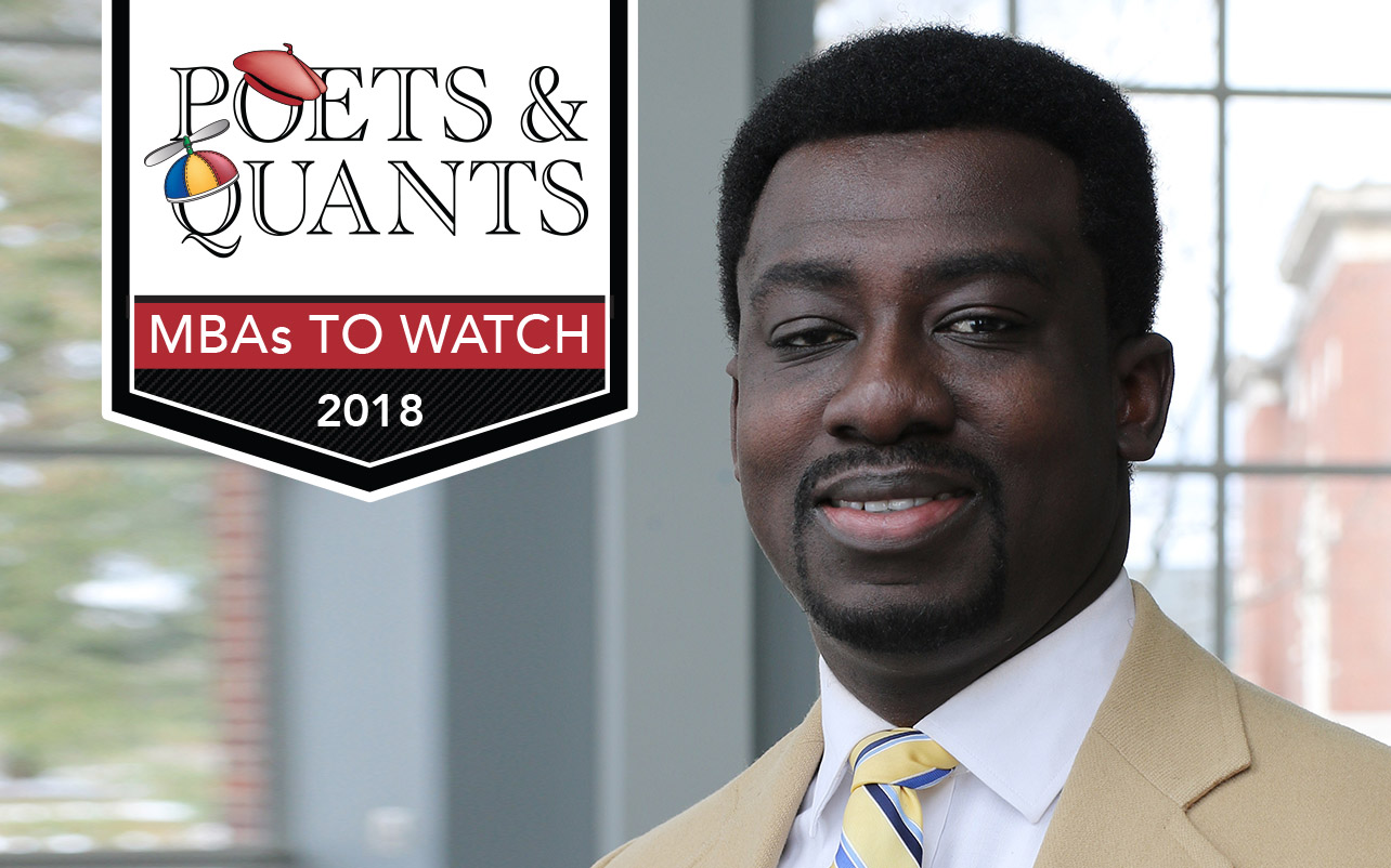 NEWS: 2018 MBAs To Watch: Gilbert Bonsu, University of Rochester (Simon)