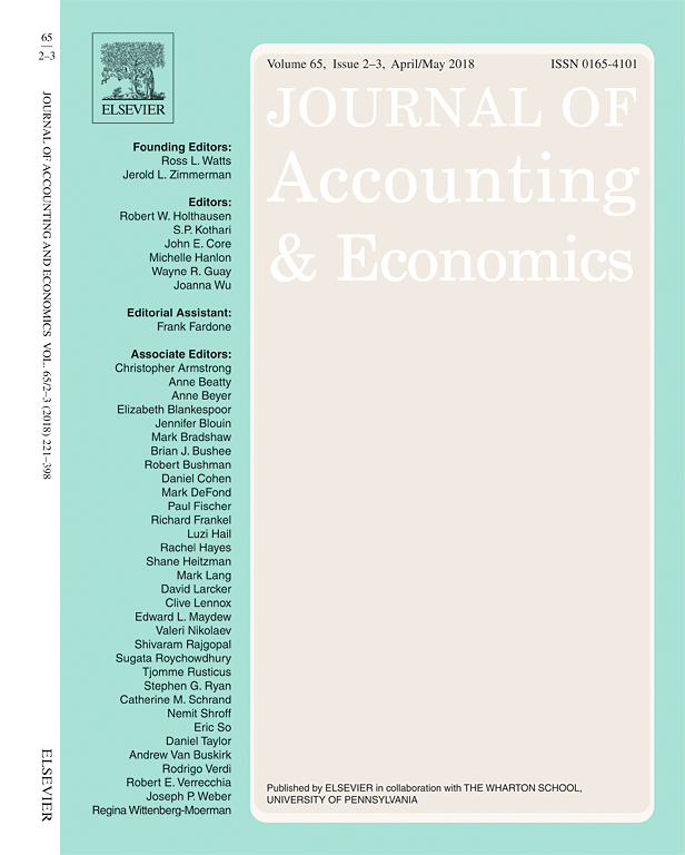 Journal of Accounting and Economic Conference Cover
