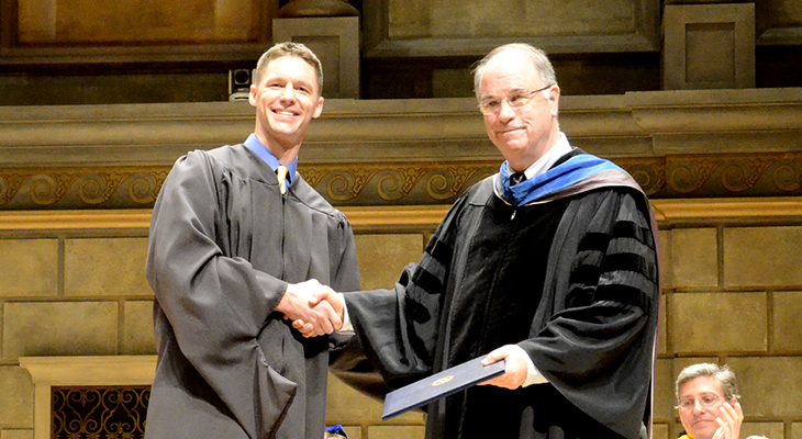 Superior Teaching Award Cliff Smith 730x400