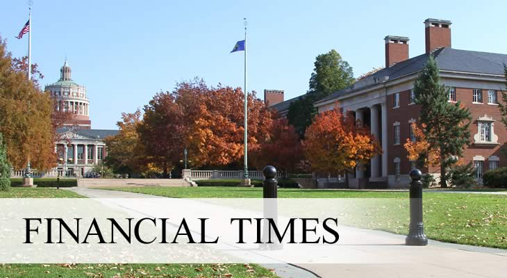 Financial Times Ranks Simon Business School Among Top Programs for Masters in Finance