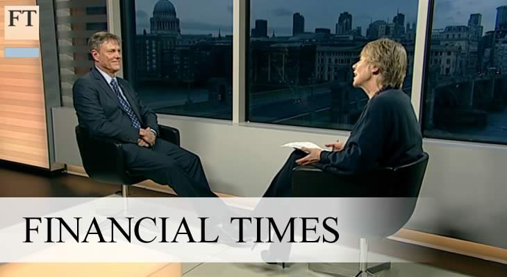 Ainslie Financial Times Interview on Business Analytics
