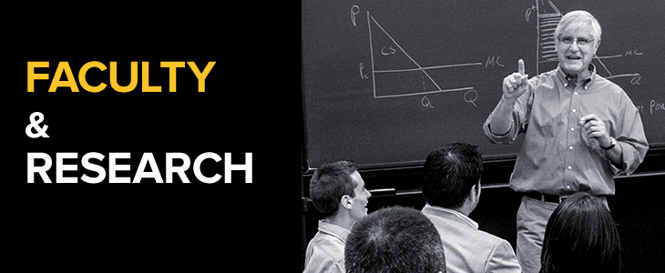 Faculty and Research Mobile Banner - 730 x 300