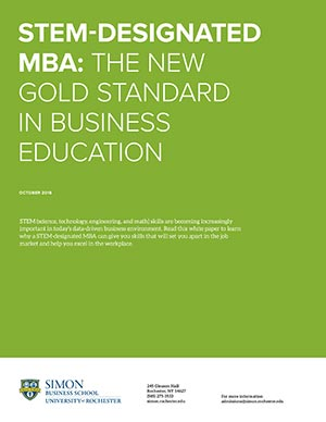 STEM-Designated MBA: THE NEW GOLD STANDARD IN BUSINESS EDUCATION