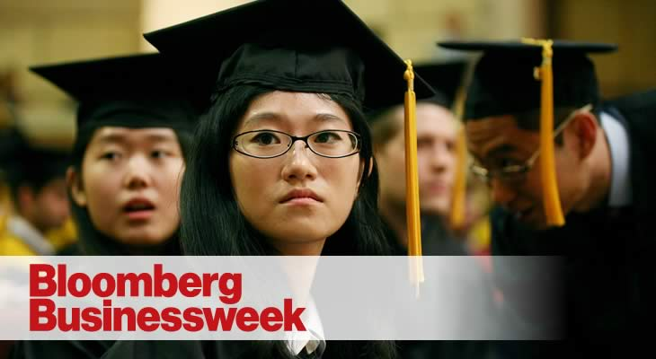 Karen Dowd in Bloomberg Businessweek on International Students and Jobs