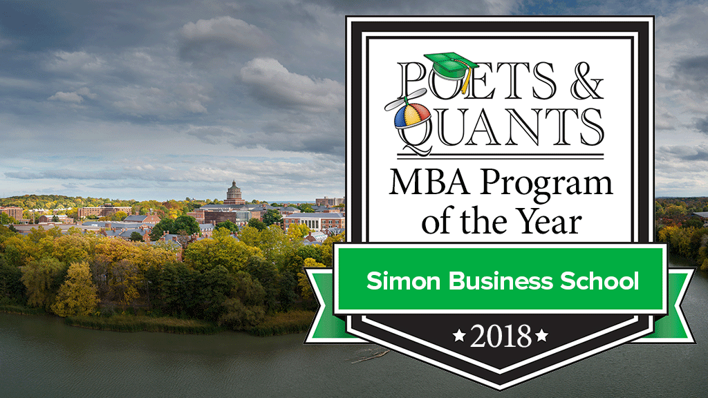 NEWS: Simon Named MBA Program of the Year