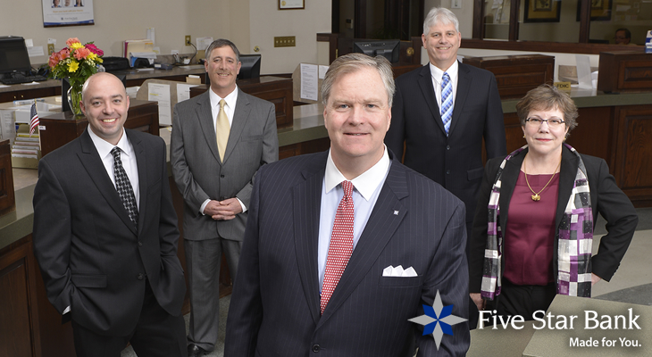 Five Star Bank Employees - 730 x 400
