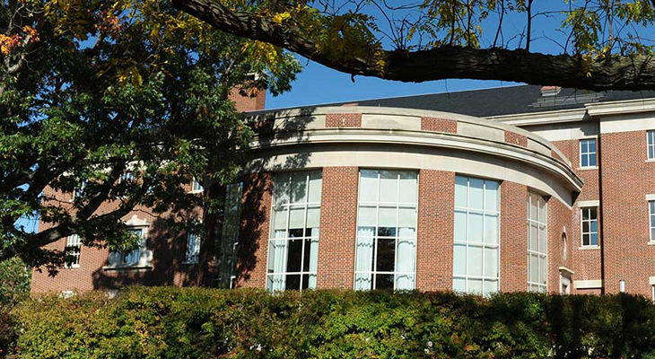 Schlegel Hall photo of the rotunda from the outside - 730 x 400