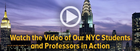 Watch our NYC Students and Professors in Action