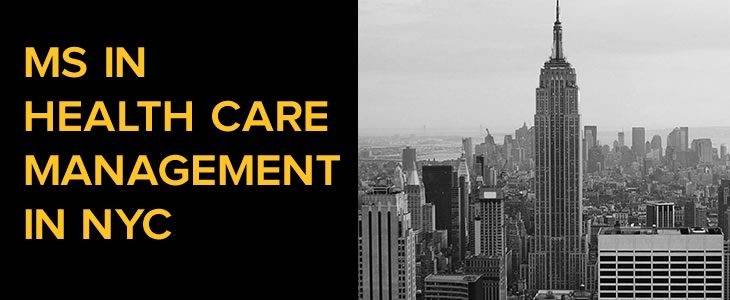 MS in Health Care Management in New York City - Mobile - 730 x 300