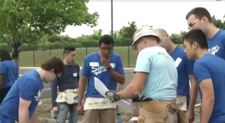 VIDEO: Simon Business School working with Habitat for Humanity.