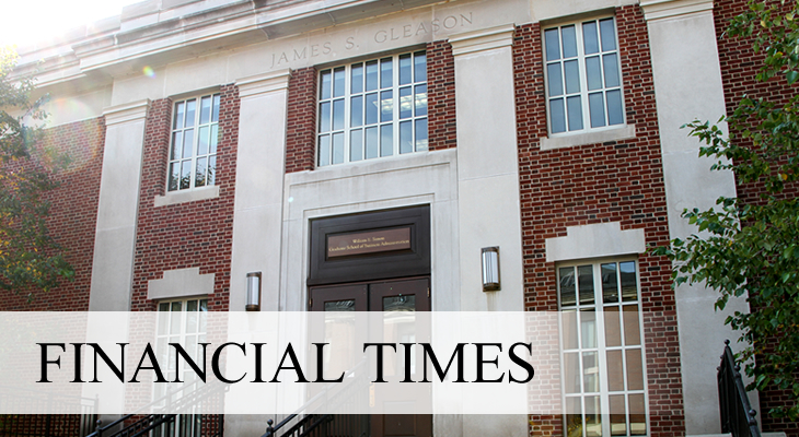 NEWS: Financial Times Ranks Simon's MS in Finance program number 6 in the U.S.