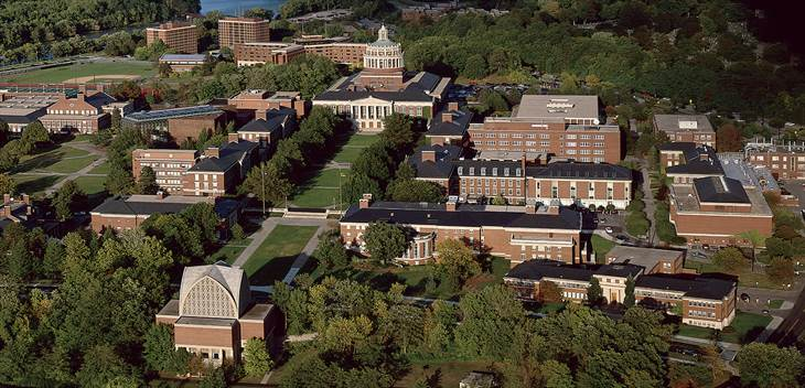 University of Rochester Arial Photo - 1660 x 801