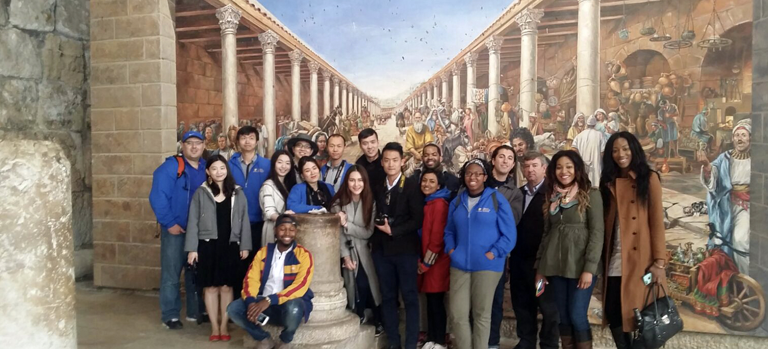 Simon Business School students participate in an international immersion in Israel