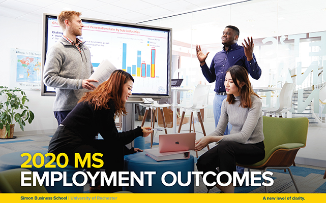Cover image of the 2020 employment report.