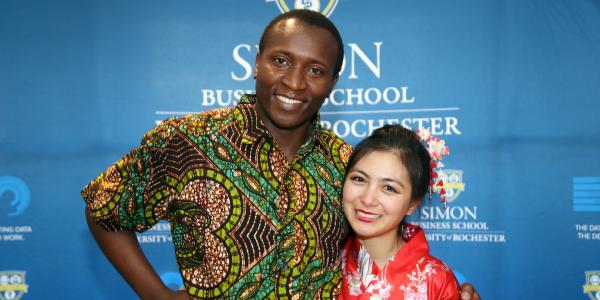 GBC Club Diversity Fashion Show at Simon Business School.